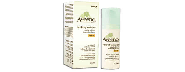 Aveeno Positively Luminous Vignette