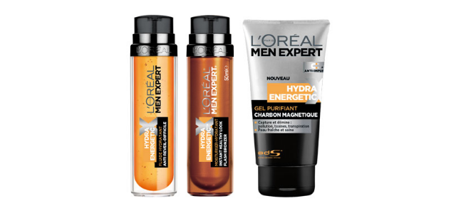 L'Oréal Men Expert Hydra Energetic new launches