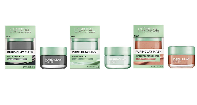 L'Oréal Paris Pure-Clay Masks